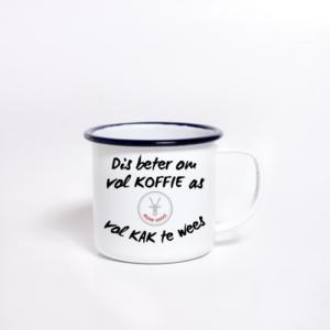 Enamel Mug Sublimated koffie