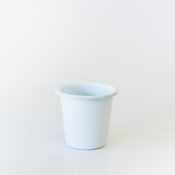 enamel mini tumbler or sauce dip